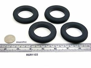 16 Very Large Rubber Grommets 1 1 2 Inner Diameter Fits 2 Panel Hole