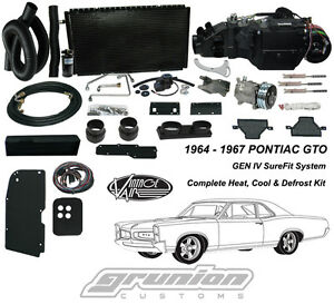 Intage Air 1964 67 Pontiac Gto W ac Air Conditioning Heat Defrost Kit 964467