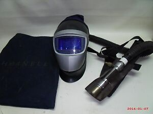 Hornell Welding Helmet Respirator Filtered Air Supply Hose Used Make Offer