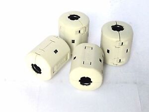 Rfc 10 Emi Core Split Ferrites For Round Cable 10pcs Noise Filter