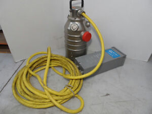 Flygt Stainless Steel Submersible Pump 3 7hp 2060 390 With Control Box 4 802