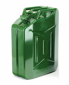 Large Jerry Can 20 Litre Fuel Storage Can Petrol Diesel Can Heavy Duty Metal