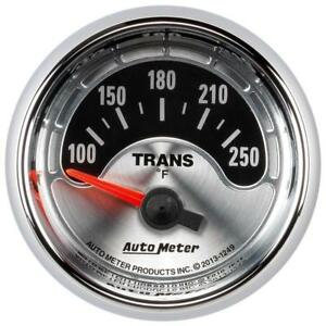 Auto Meter Transmission Oil Temperature Gauge 1249 American Muscle 2 1 16 Elec