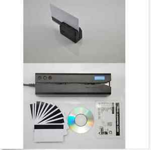 Msr605x minidx3 Magnetic Credit Card Swipe Reader Writer Encoder Portable Reader