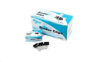 15mm 5 8 Small Size Metal Binder Clips 48 Count Paper File Organizer Sorter New
