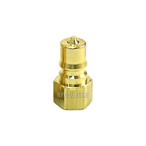 Carpet Cleaning 1 4 Brass Quick Disconnect Qd Hose Wand Truckmount Extractor