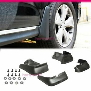 Fits 12 13 Honda Civic Splash Mud Guards Flaps Kit Pu 4pcs