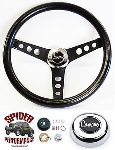 1967 Camaro Steering Wheel Camaro Classic Black 13 1 2 Grant Steering Wheel