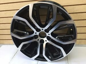 New 20 Bmw X5 X6 X5m X6m Staggered M 300 375 Style Wheels Machined Rims