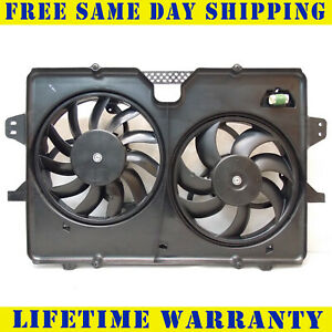 Radiator And Condenser Fan For Ford Escape Mercury Mariner Fo3115176