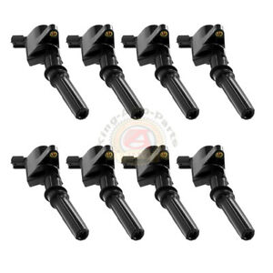 Super Performance Ignition Coil Pack For Ford F150 F250 F550 4 6 5 4l Dg508 V8