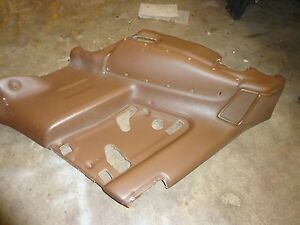 Toyota Supra Mk3 1990 92 Passenger Rear Door Panel Dark Beige Oem