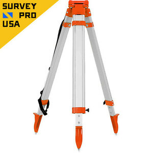 Total Station Heavy Duty Aluminum Tripod Screw Lock Gps total Station survey