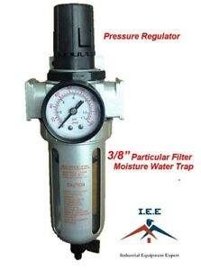 3 8 Particulate Filter Pressure Regulator With Gauge Fr803