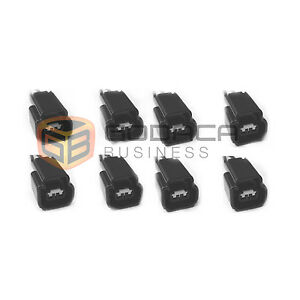 Set Of 8 Ford Ignition Coil Connector 4 6 5 4 6 8 Cobra Mustang Pigtails Wpt 579