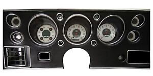 Classic Instruments Chevelle Malibu Ss Gauges Cluster American Nickel Series