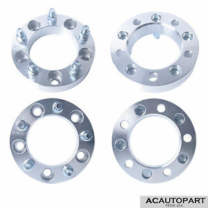 4pcs 1 5 5x5 5 Wheel Spacers Adapters For Ford F 150 Dodge Ram 1500