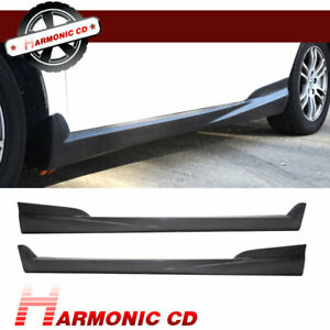 Fits 02 06 Acura Rsx Dc5 2dr Coupe Mu Style Side Skirts Pu