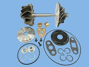 Scania T drive Bus 94gl Ta10 Wh2d Turbo Charger Comp Wheel Shaft Rebuild Kit