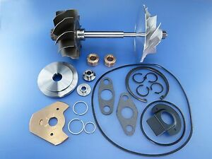 Volvo D12d Hx52 3599996 Turbo Charger Comp Wheel Shaft Rebuild Kit