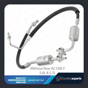 A c Suction And Discharge Hose Fits 1996 1999 Chevy Silverado Truck 5 0l