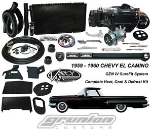 Chevy El Camino Air Conditioning Heat Defrost Kit By Vintage Air