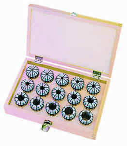 Er Spring Collet Set 11pc Metric Er 20 European Brand