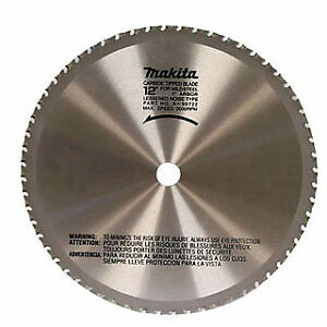 Makita A 90532 12 Carbide Tipped Saw Blade For Mild Steel Cutting