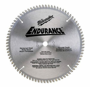 Milwaukee 48 40 4172 10 1 4 X 40 Carbide Tooth Circular Saw Blade