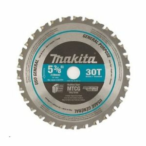 Makita A 95037 5 3 8 X 30 Tooth Carbide Metal Cutting Saw Blade