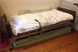 Electric Twin Bed Accessible Manufacturer Patriot homecare Bed Series
