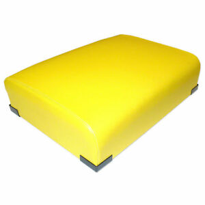 Ar26932 New Yellow Bottom Seat Cushion Made For John Deere Tractor Models A B