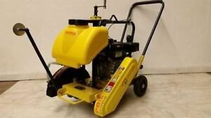 New Packer Brothers Pb14 Briggs 7 Walk behind Concrete Saw 14 Cement Walkbehind