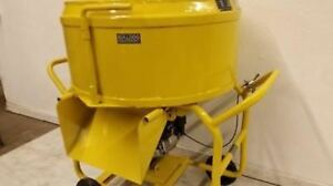 Bulldog Mfg Mortar Mixer Grout Plaster Stucco Electric 3 5 Cf 26 5 Gallons