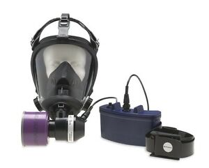 Honeywell Survivair Opti fit Mask Mounted Large 8 Hours Papr System 520700 New
