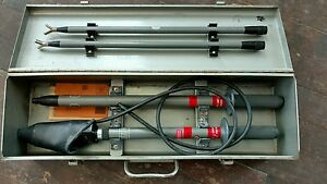 Nice Detex Phasing Tester Cl 8 36 us 2 4 To 36kv 40 Poles Case