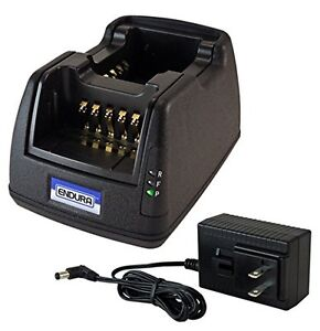 Power Products Dual Slot Rapid Charger For Kenwood Nx240 Nx430 Radio