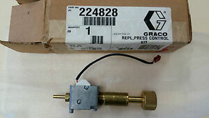 Graco Genuine Pressure Control Kit 224828 Cat 224828
