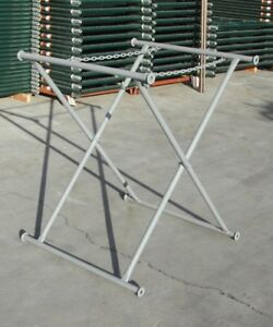 A Set Of 3 Double Chain Mortar Board Stand From 48 60 72 X 30