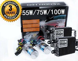 Xenon 55w 75w 100w H1 H3 H4 H7 H11 H13 9005 9006 Hid Headlight Conversion Kit