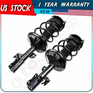 For 2002 2003 Toyota Camry Front Complete Struts Coil Springs Mount Assemblies