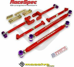 Mss Control Arms Brace Upper Lower Trailing 64 67 Gm A Body Adjustable Kit
