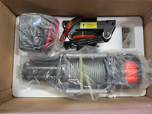 Mile Marker 4500 Lbs Electric Planetary Winch 76 50115 Pe4500 1 4 X80 Cable