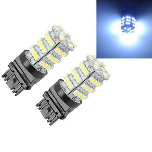 2x 3156 3157 6000k Xenon White Backup Reverse Tail 54smd Led Light Bulb Us Stock