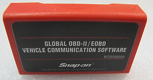 Snap On Mt2500 Mtg2500 2009 Global Obd2 Eobd Can Domestic Asian Euro Cartridge