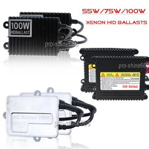 55w 75w 100w H1 H3 H7 H11 H4 Headlight Beam Ac Ballast Hid Xenon Conversion Kit