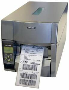 Citizen Cl s700 Barcode Printer Direct Thermal With Ethernet Grey Power Co