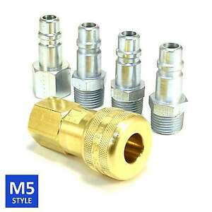 Foster 5 Series Brass Quick Coupler 1 2 Body 1 2 Npt Air Hose And