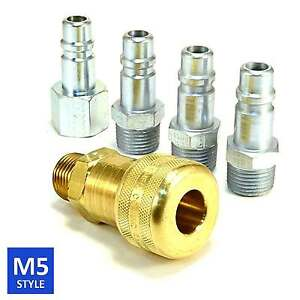 Foster 5 Series Brass Quick Coupler 1 2 Body 1 2 Npt Air Hose And Water Fittings
