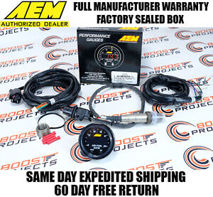 Aem X Series Wideband Gauge 52mm 2 1 16 O2 Uego Air Fuel Afr Controller 30 0300